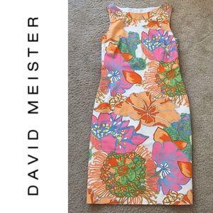 David Meister Flora Sheath Dress